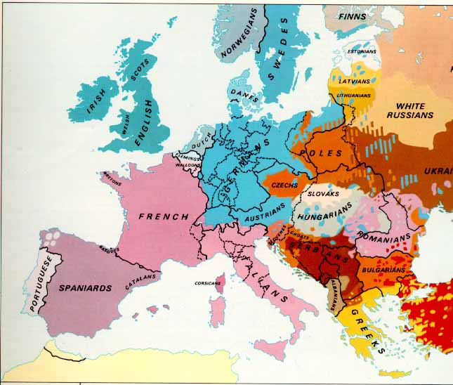 Here is the entire map. Ethnic disposition of peoples do not change easily.